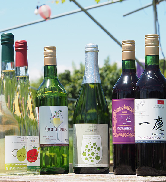 Life with dream wine in rural Japan